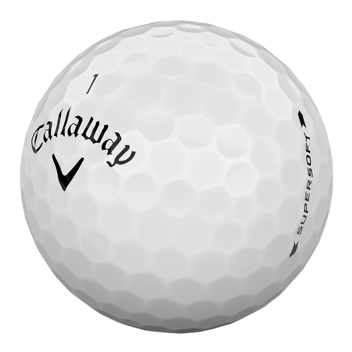 The Callaway Supersoft is the among the best golf balls for beginners